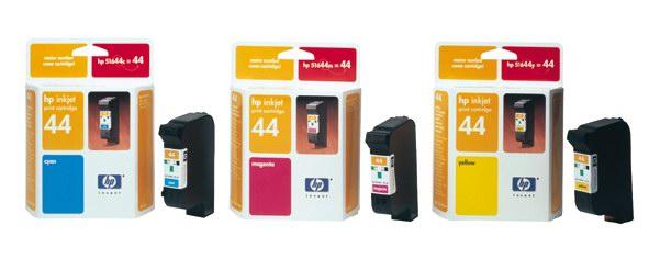 HP 51644ME No. 44 Magenta Ink Cart pro DJ 350,450,455,750,755, 42 ml - 51644ME