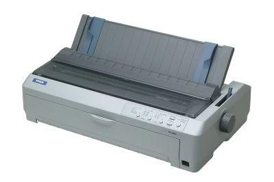 EPSON jehličková FX-2190 - A3/2x9pins/566zn/1+5 kopii/USB/LPT - C11C526022