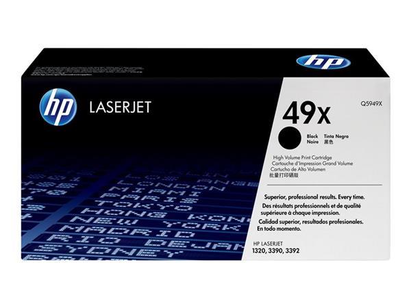 HP Q5949X Toner 49X pro LJ 1320, (6000str), Black - Q5949X