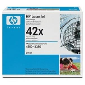 HP Q5942X Toner 42X pro LJ 4250/4350, (20 000str), Black - Q5942X