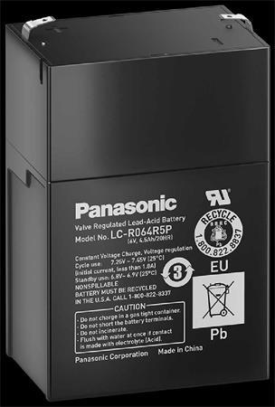 Baterie Panasonic 6V/4,5 Ah - LC-R064R5P