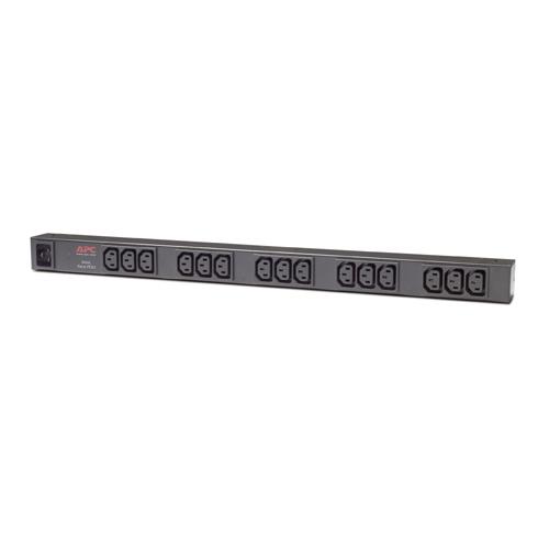 APC Rack PDU, Basic, Zero U, 16A, C20 -> (15)C13 - AP9572