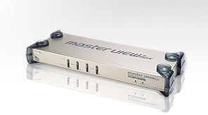 ATEN KVM switch CS-1754 USB&PS2 4PC, OSD, Audio - CS1754Q9-AT-G