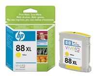 HP C9393AE Ink Cart No.88XL pro OJ K550,K8600, 17ml, Yellow - C9393AE