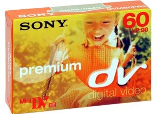SONY Mini DV kazeta Premium, 60 minut - DVM60PR