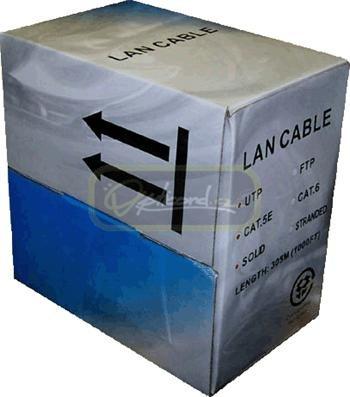 UTP kabel drát, Cat.5e, box 305m, LSOH - 0009