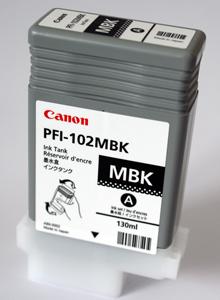 Canon cartridge PFI-102MBK iPF-500, 6x0, 7xx, LP-xx (PFI102MBK) - 0894B001