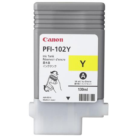 Canon cartridge PFI-102Y iPF-500, 6x0, 7xx, LP-xx (PFI102Y) - 0898B001