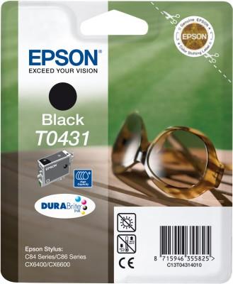 EPSON cartridge T0431 black (brýle) - C13T04314010