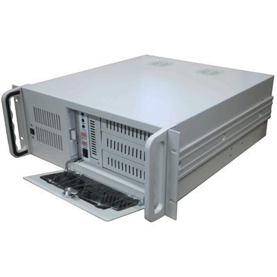 "Server Case 19"" IPC970 480mm, bílý - bez zdroje - 8212"