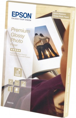 EPSON paper 10x15 - 255g/m2 - 40sheets - photo premium glossy - C13S042153