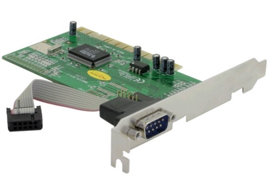 Delock adaptér PCI 1x sériový port - 89056
