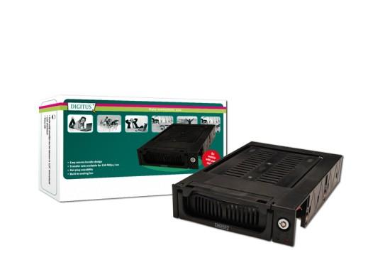 Digitus výměnný rámeček plastový, SATA, s klíčkem, černý - DA-50215