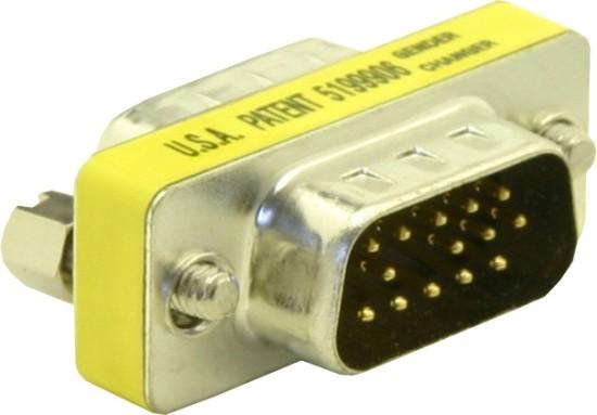 Adaptér DB15 (VGA) samec/samec - 65010