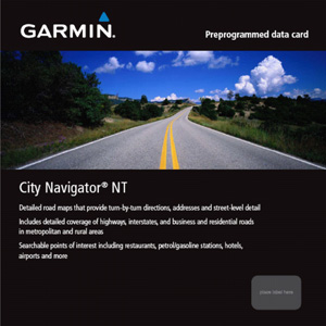 Garmin Uliční mapa Evropy na microSD/SD kartě - CityNavigator® NT Europe - 010-10680-50