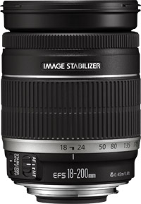 Canon EF-S 18-200 mm f/3.5-5.6 IS - 2752B005