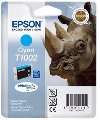 EPSON cartridge T1002 cyan (nosorožec) - C13T10024010
