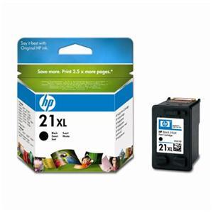 HP C9351CE Ink Cart No.21XL pro DJ 3920, 3940, D1360, D2360,F380, 12ml, Black - C9351CE