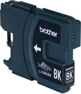 LC-980BK (inkoust černý, 300 str.@ 5%, draft) - LC980BK