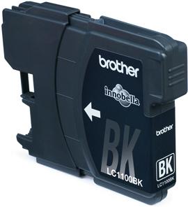 LC-1100Bk (ink. černý, 450 str. @ 5%) - LC1100BK