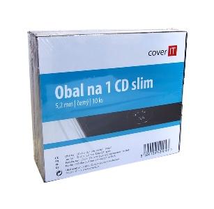 COVER IT box: 1 CD slim černý - COVERIT9
