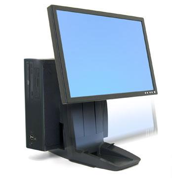 ERGOTRON Neo-Flex® All-In-One Lift Stand, stojan vše v jednom, monitor,PC nebo herní konzole - 33-326-085