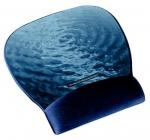 """3M Podložka zápestí z gelové hmoty - design """"voda"""" (MW311BE) - 70-0710-8075-1"""