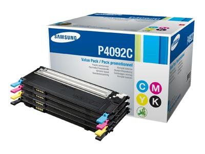 Samsung sada tonerů (CMYK) CLT-P4092C pro CLP-310/315/CLX-3170/3175 - 1500/1000 str. - CLT-P4092C/ELS