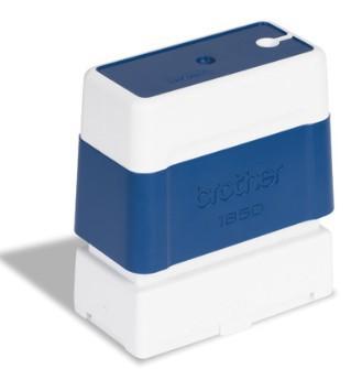 Brother PR-1850E, razítko modré (18x50 mm) - PR1850E6P