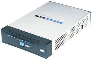 Cisco RV042 10/100 VPN 4-Port Router Dual WAN - RV042-EU