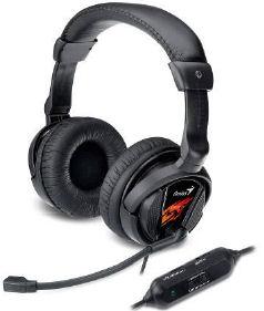 Genius headset - HS-G500V Gaming, s vibracemi - 31710020101