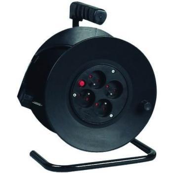 PremiumCord prodlužovací kabel 230V, 50m na bubnu, 4 zásuvky, 1,5mm2 - ppb-01-50