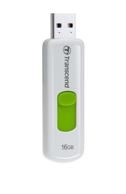 Transcend 16GB JetFlash 530, USB 2.0 flash disk, bílo/zelený - TS16GJF530