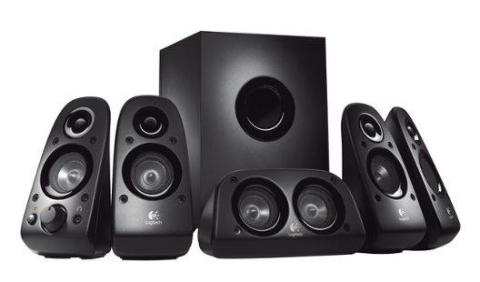 Logitech Repro Z506, sada 5.1, 150W, (75W RMS), 3D stereo - 980-000431