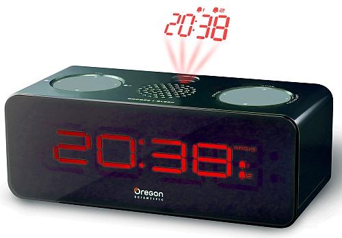 Oregon Scientific RRA320PBK rádiobudík s projekcí, FM rádio - RRA320PBK