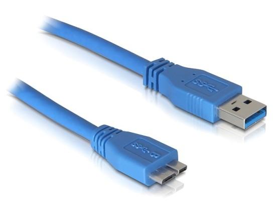 Delock USB 3.0 kabel A samec/ Micro samec délka 2m - 82532