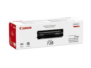 Canon toner CRG-728Bk Black (CRG728BK) - 3500B002