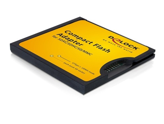 DeLock Adapter CF II na SD/SDHC/SDXC/MMC - 61796