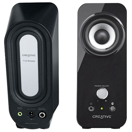 Creative Inspire T12, wirelles reproduktory 2.0, RMS 20W - 51MF1650AA000