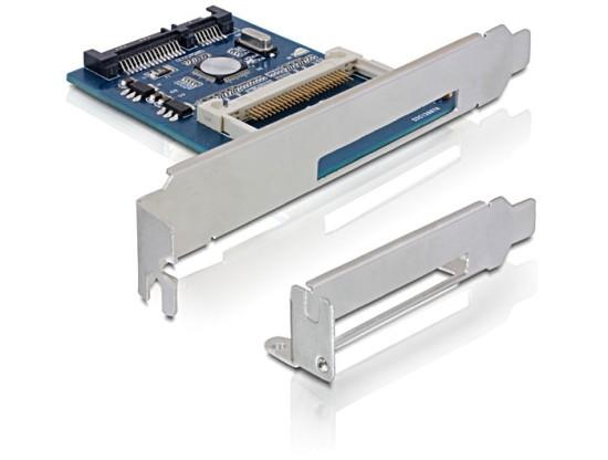 Převodník SATA II -> CompactFlash interní do slotu (+low profile) - 91687
