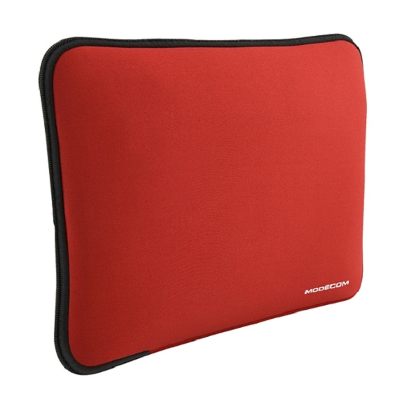 "Modecom neoprenový obal BROOKLYN S1 na notebooky velikosti 14"" - 16"", červený - FUT-MC-BROOKLYN-S001-16-RED"