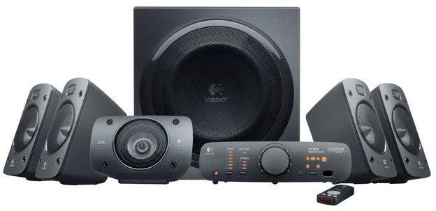 Akce!!! Logitech Repro Speakers Z906, 5.1, 500W RMS, DTS, RCA, opt. vstup, dálk. ovl., THX certifiká - 980-000468