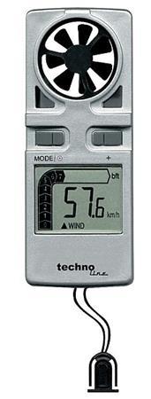 Anemometr ruční EA3010, měřič rychlosti větru - EA3010