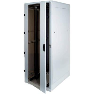 19. rozvaděč stojanový 42U/600x800 skleněné dveře - RMA-42-A68-XAX-A1