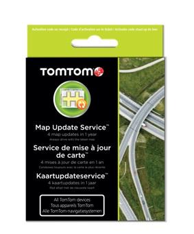 TOMTOM karta na 1 roční update map - kompatibiliní se všemi navigacemi TomTom - 9SDA.001.01