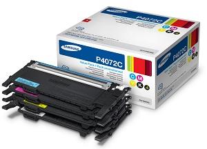 Samsung toner CLT-P4072C/ELS pro CLP-320/325,CLX-3185 - sada barev CMYK - CLT-P4072C/ELS