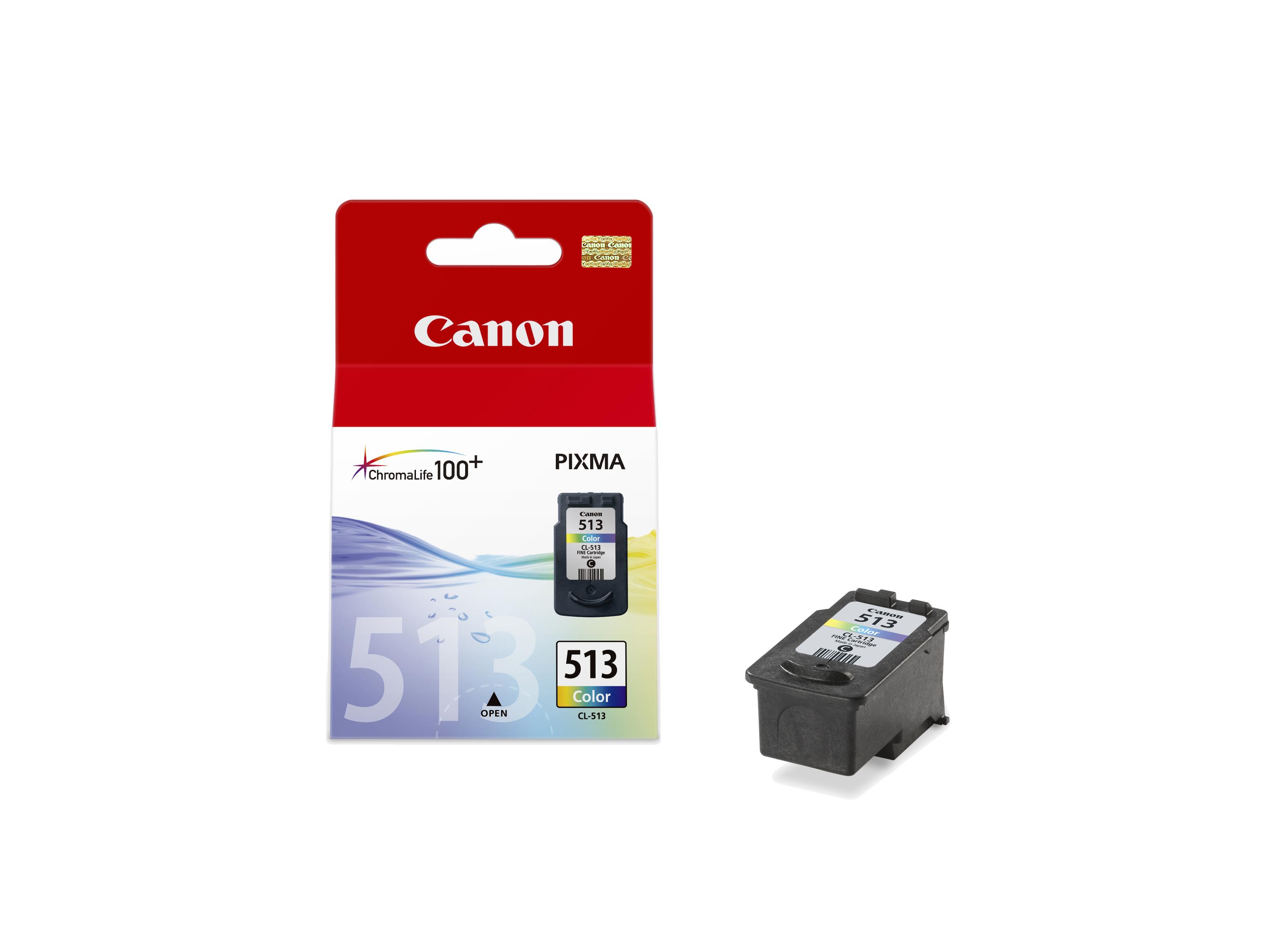 Canon cartridge CL-513 BLISTR s ochranou (CL513) - 2971B009