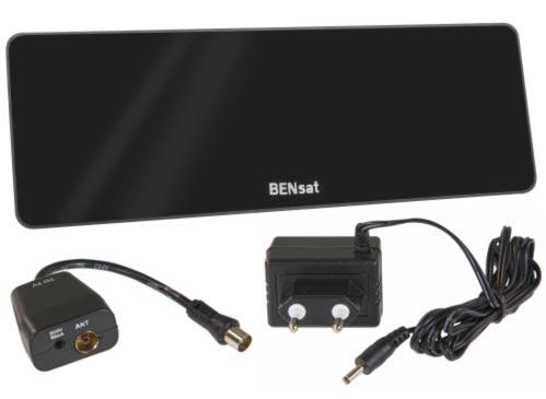BENsat HD-101N - pokojová anténa pro DVB-T, černá - 2702012000