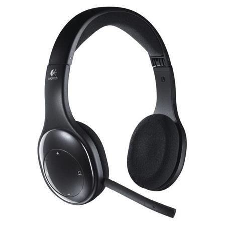 Logitech Wireless Headset H800, bezdrátová náhlavní souprava, USB - 981-000338