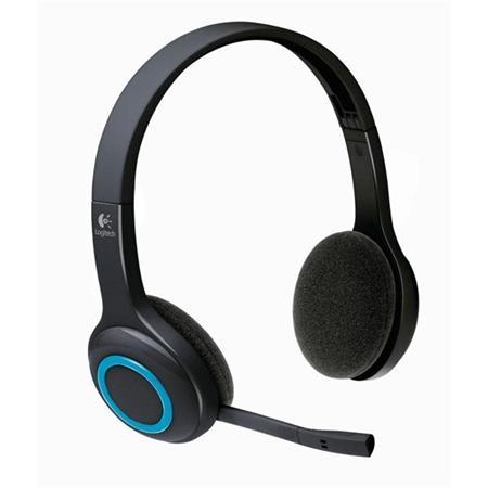 Logitech Wireless Headset H600, bezdrátová sluchátka s mikrofonem - 981-000342